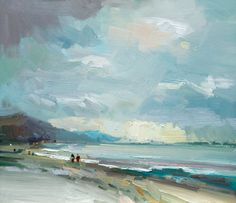 David Atkins: Morning Light, Charmouth, Dorset Campden Gallery, fine art, Chipping Campden, camden gallery, contemporary, contemporary arts, contemporary art, artists, painting, sculpture, abstract painting, gloucestershire,  cotswolds, painting for sale, artwork for sale, modern art gallery, art exhibitions,arts gallery, gallery art, art gallery UK