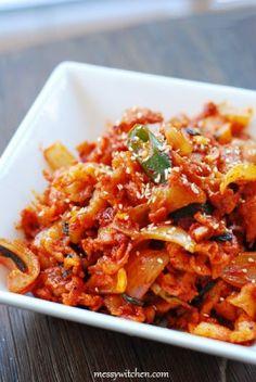 Spicy Guacamole Recipe, Spicy Shrimp Recipes, Spicy Appetizers, Spicy Pasta, Korean Sausage Recipe, Sausage Recipes, Pork Recipes, Asian Recipes, Bulgogi