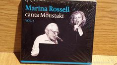 MARINA ROSSELL CANTA MOUSTAKI. VOL 2. DIGIPACK-CD / SATELITE-2014. PRECINTADO.