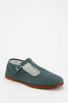Cotton T-Strap Mary Jane  #urbanoutfitters