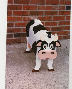Handmade Custom Wooden Functional Cow Mailbox by tomscraftcastle, $75.00