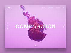 Website Homepage Concept