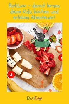 Jetzt spezielles Angebot sichern: Das Lese-Koch-Abenteuer für Kids gibt es nun mit kostenlosem Messbecher! Tricks, Kids Learning, Healthy Eating For Kids, Kid Recipes, Gifts For Children