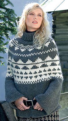 Ravelry: #20 Cozy Poncho pattern by Verena Design Team