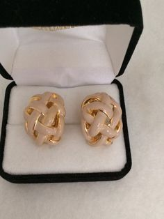 Stunning Designer St. John Authentic Clip Earring by TrendsCouture