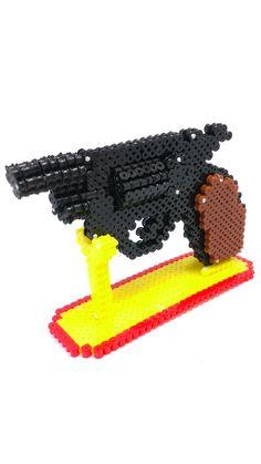 3D gun by perler beads