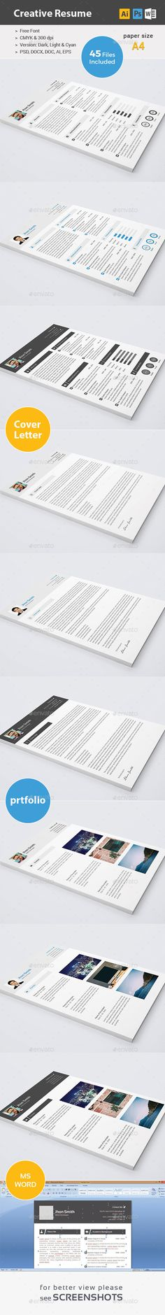 Resume - 01 by envalab This Products includes: Resume.psd Resume.docx Resume.doc Resume.ai Resume.eps Cover_Letter.psd Cover_Letter.doc