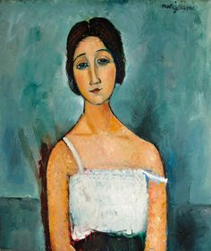 Reproduction Painting Amedeo Modigliani Christina, Hand-Painted Reproductions Art Oil On Canvas Amedeo Modigliani, Modigliani Paintings, Italian Painters, Italian Artist, Karl Schmidt Rottluff, Carl Friedrich, Photo D Art, Ouvrages D'art, Claude Monet