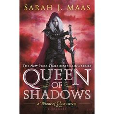 Spoiler free review of Queen of Shadows, assassins, love, heart-break. How to write a story!
