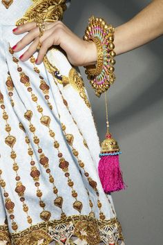 Manish Arora Spring 2013 Collection (Amrapali's jewelry collection at Manish Arora