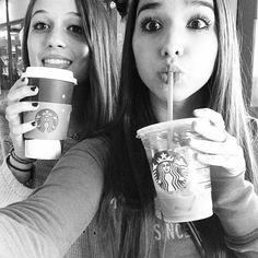 Felicity) I finally got to meet Connie before i move. I'm so glad I got to go to Starbucks with you.