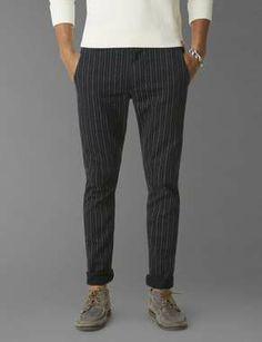 Dockers® Alpha Khaki - Navy Stripe