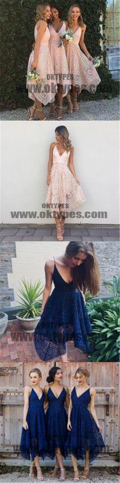 Unique Lace Bridesmaid Dresses, Lovely Wedding Guest Dresses, Bridesmaid Dresses, TYP0311 #bridesmaiddresses