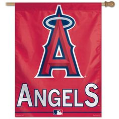 Los Angeles Angels of Anaheim 27x37 Banner                                                                                                                                                     More