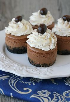Mini Kahlua Cheesecake