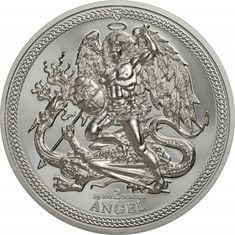Proof Coins, Silver Dragon, Isle Of Man, Silver Coins, Angel, Ebay, Silver Quarters, Angels