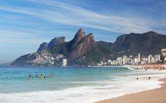 Ipanema Beach in Rio de Janeirio