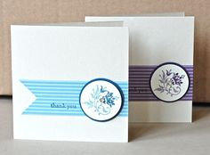 Very simple. Great way to show off Stampin' Write Markers