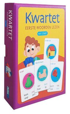 Kwartet - Eerste woorden lezen (AVI start) | Overig - bookspot.be Cover, Books, Products, School, Reading, Libros, Book, Book Illustrations, Gadget