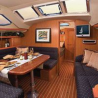 sailboat interior design light and air complement the designer fabrics and finely sailboat decorsailboat interioryacht