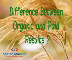 #google  #SEO #SEEM #analytics #search #contentmarketing #contentstrategy #internetmarketing http://www.searchmarkup.com/faq/difference-organic-paid-results/