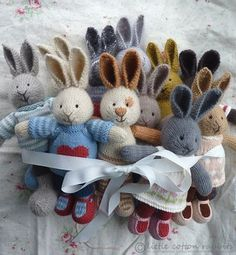 Little Cotton Rabbits <3. I would LOVE this pattern!