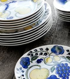 Love Design, Objects, Plates, My Favorite Things, Finland, Tableware, Tabletop, How To Make, Stuff To Buy