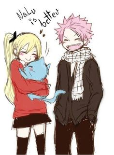 Sorry for the nalu my non-nalu fans, I just thought the drawing was cute