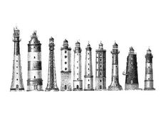 The Top Ten Tallest Lighthouses in the World  It's not just ships they warn, it's also low flying aircraft!   #Lighthouses #Oldtimes #Maritime