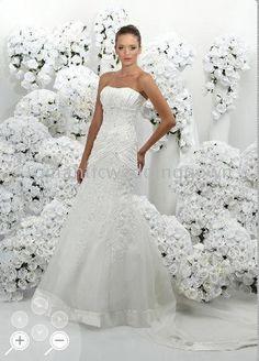 Robe de mariée diamant blanc