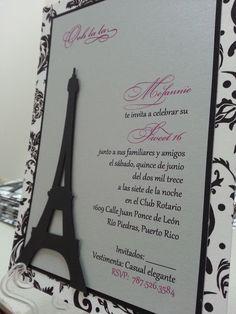 Torre Eiffel cortada con Silhouette Cameo