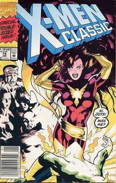 Classic X-Men #79 - Cover by Adam Hughes