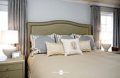 Serene Master Bedroom by Suzanne Manlove | Arlington Home Interiors