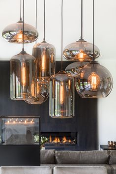 EVE-Bulbs in Metallic Smoke. Project EVE-Living/Zoersel Belgium
