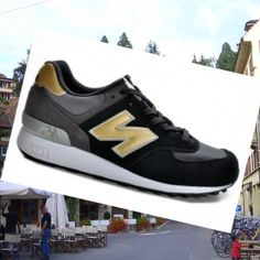low priced eb597 a8621 New Balance 576 Herre Trænere Cool Grey-Sort-Gold,Quality Sneakers are  worthy