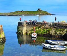 7 quirky things to do in Dublin Coliemore Harbour with Dalkey Island in the background Property Guide, Stuff To Do, Things To Do, Island Cruises, Dublin City, Ireland Travel, British Isles, Luxury Travel, Travel Inspiration