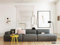 Connect Sofa 3 Module - L 326 cm - Muuto