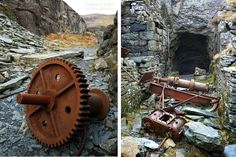 Disused Slate Mine Railways (Wales) - Small scale extraction was initially carried out by groups who paid royalties to landowners in order to quarry slate on their properties. But by the end of the 18th century, landlords has clocked the enormous business potential and began to operate quarries themselves.