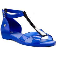 Sandały MEL BY MELISSA - Mel Dance Sp Ad 31541 Blue/Black 52044