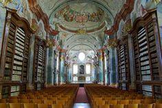 Altenburg Abbey Library, Altenburg, Austria.