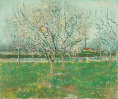 Vincent van Gogh: The Paintings (Orchard in Blossom--Plum Trees)