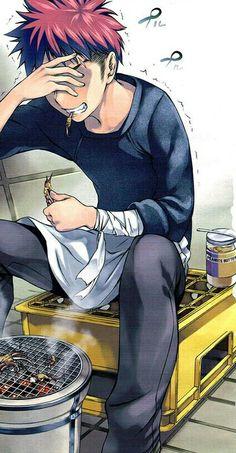 shokugeki no soma #mangacap #manga
