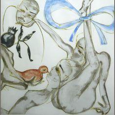 Francesco Clemente (Italian, born 1952); Yellow, Red, or Blue;