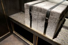 luggage room detail. Intercontinental Park Lane. With HBA London