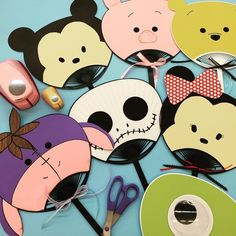 Tsum Tsum fan party favors and decorations