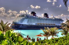 DCL Castaway Cay, Disney Fantasy, Image Processing, Disney Cruise Line, Caribbean, Beautiful Places, Photoshop, Travel, Hdr