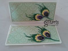 Three fold Quilling envelopes