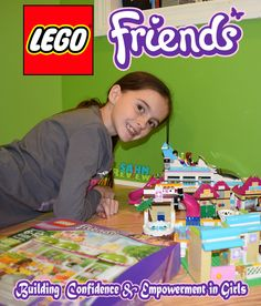 Lego Friends empower girls to construct ideas and solutions on their own. - SahmReviews.com @LEGO #LEGOFriendsCGC #CleverGirls
