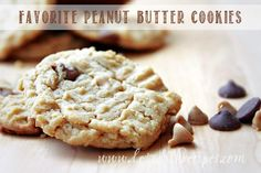 I've tried several peanut butter cookie recipes over the years, and this is my favorite.  Even my husband, who doesn't care for peanut butter, likes them! You can use smooth or chunky peanut b...