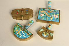 Collection Of 4 Silent Butlers : Lot 153 Jun, Auction, Coral, Christmas Ornaments, Antiques, Holiday Decor, Kitchen, Vintage, Collection